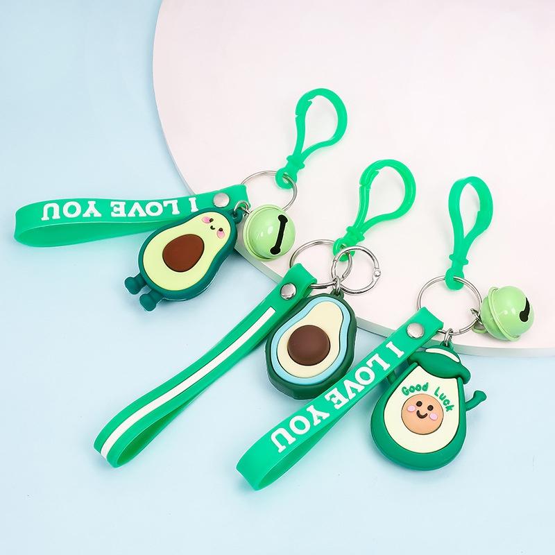 fashion cute avocado keychain NHAP337097