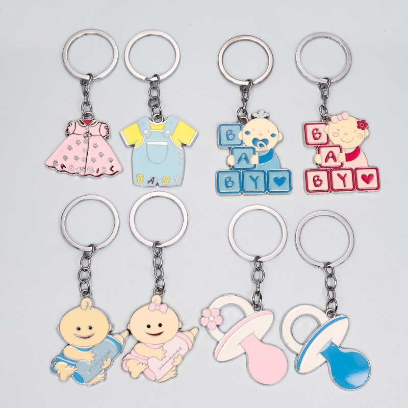 Alloy doll simple keychain NHAP337111