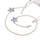 fashion star pendant glasses chain  NHBC337127