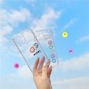 fashion love transparent color phone case NHFI337169