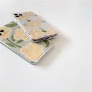 fashion love oil painting yellow flowers phone case NHFI337170