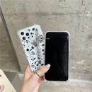 sweet splash ink butterfly chain phone case NHFI337177