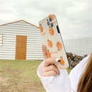 korean orange oil painting phone case NHFI337208