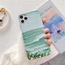 oil painting seaside scenery phone case NHFI337209