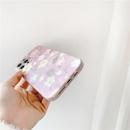 Korean colored floral phone case NHFI337210