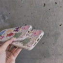 Korean graffiti line painted little monster phone case NHFI337216