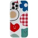 Korean graffiti color phone case NHFI337219