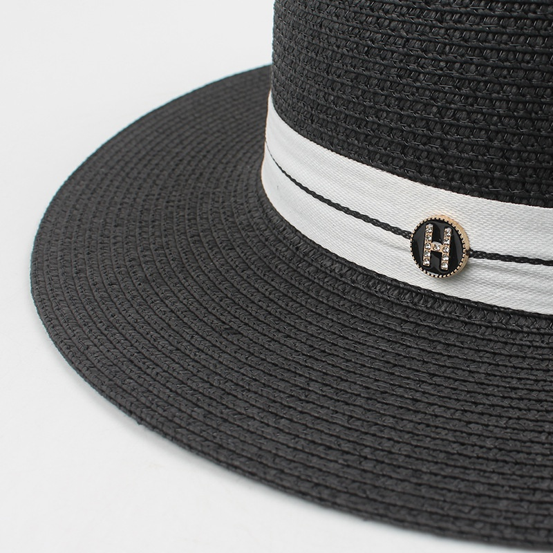 Korean sunscreen straw hat wholesale NHXO336757