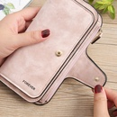 Korean Coin Purse Clutch Bag PU Leather Multipurpose Large Capacity Long Wallet Card Case NHLAN337251