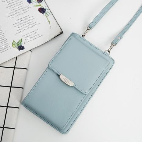 Koreanische PU lange große Kapazität Mehrzweck Brieftasche Mini-Handytasche NHLAN337253's discount tags