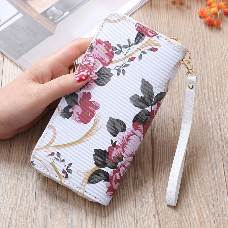fashion printed single pull wallet NHLAN337266