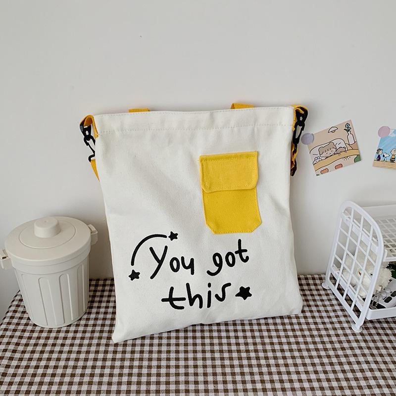 simple letters oneshoulder messange bag  NHXC337269