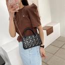 fashion rhombus armpit small square bag NHXC337277