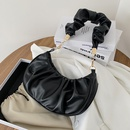 fashion solid color fold cloud bag NHXC337289