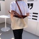 fashion contrast color largecapacity shoulder bags NHXC337290