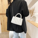 Korean solid color vertical pattern messenger bag  NHXC337292