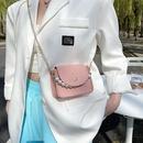 fashion pearl handle metal chain messenger bag  NHXC337294