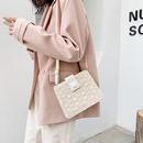 retro lace straw small square bag  NHXC337299
