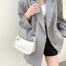 simple solid color oneshoulder small square bag NHXC337310