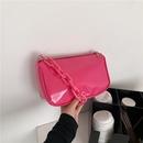 fashion splicing acrylic chain underarm bag  NHXC337316