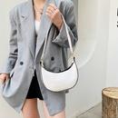 Fashion stone pattern dumplings underarm bag NHXC337323