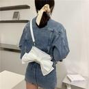 fashion large bow small square bag NHXC337325