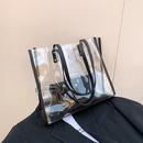 simple transparent large jelly bag NHXC337330