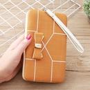 Korean stripe printing bow wallet NHLAN337340