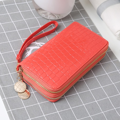 fashion stone pattern candy color wallet  NHLAN337346's discount tags