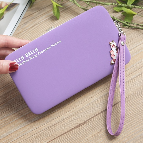 Cartera larga multifuncional coreana NHLAN337359's discount tags