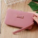 Korean letter solid color long wallet  NHLAN337367