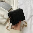 Fashion chain bag pure color Korean messenger bag square bag NHRU337403