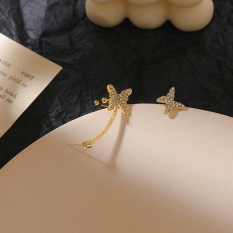 Korea Mode Schmetterlingsohrringe NHGY337880's discount tags