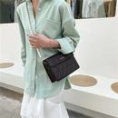 String Pearl Shoulder Strap Womens Embroidered Lines Diamond Shoulder Bag NHRU337414