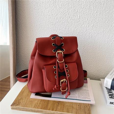 Frauen weiche Rucksäcke Street Fashion Shopping Reisetaschen NHRU337419