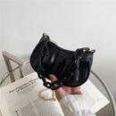Fashion thick chain portable dumpling bag mini shoulder messenger bag NHRU337420