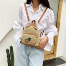 Korean straw woven bag fashion woven pineapple backpack  NHRU337421
