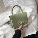 Fashion messenger retro small square bag  NHRU337422
