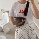 Korean casual chest bag chain waist bag rhombus messenger bag  NHRU337424