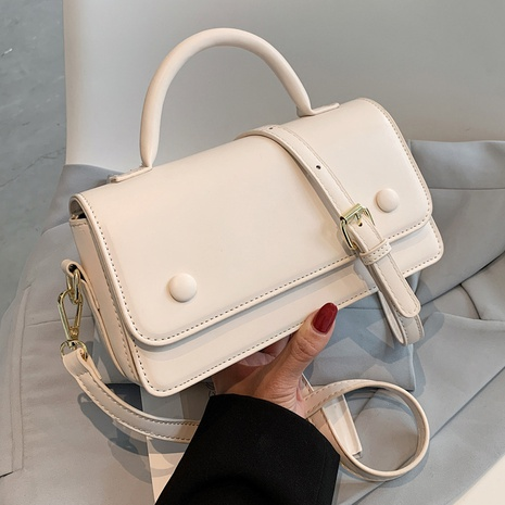 Petit sac carré portable de couleur unie de mode NHLH337472's discount tags
