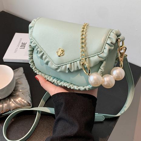 Petit sac carré de messager de chaîne de perles de mode en gros NHLH337475's discount tags