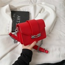 Fashion candy color shoulder messenger small square bag NHLH337535