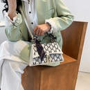 fashion silk handle printing messenger bag NHJZ337561