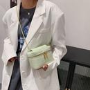 Solid color largecapacity shoulder bag NHJZ337616
