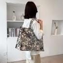 Largecapacit canvas bag college students tote bag NHJZ337626