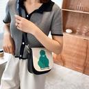 Lingge chain bag fashion messenger bag small square bag NHJZ337628