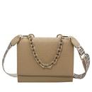 Thick chain small square bag shoulder bag messenger bag NHJZ337630