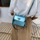 Leather bright bread bag fashion armpit bag messenger bag NHJZ337632