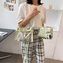 Large capacit transparent bag summer jelly bag shoulder bag NHJZ337636