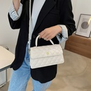 Fashion rhombic pearl chain bag shoulder bag  NHJZ337642